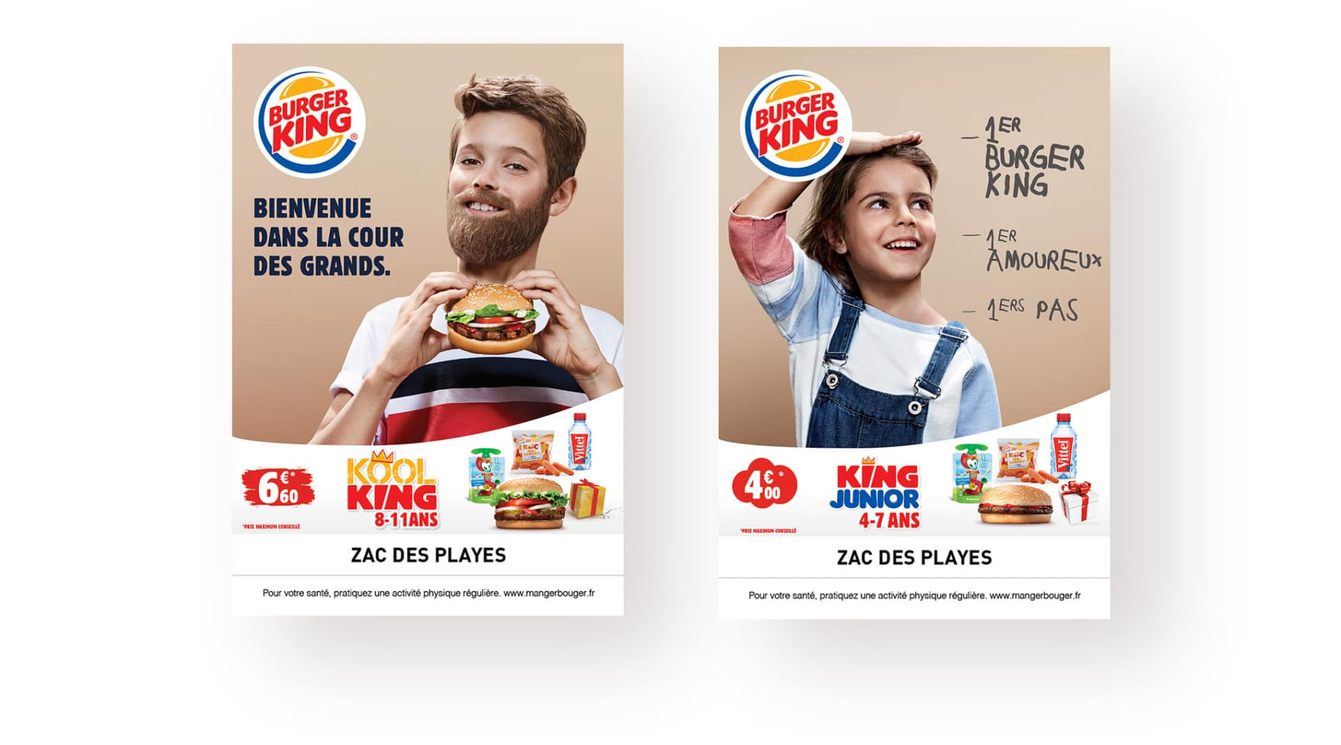campagne burger king enfants