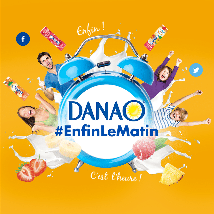 Notre nouvelle opération sociale #EnfinLeMatin de Danao va vous redonner le goût de vous lever le matin ! !