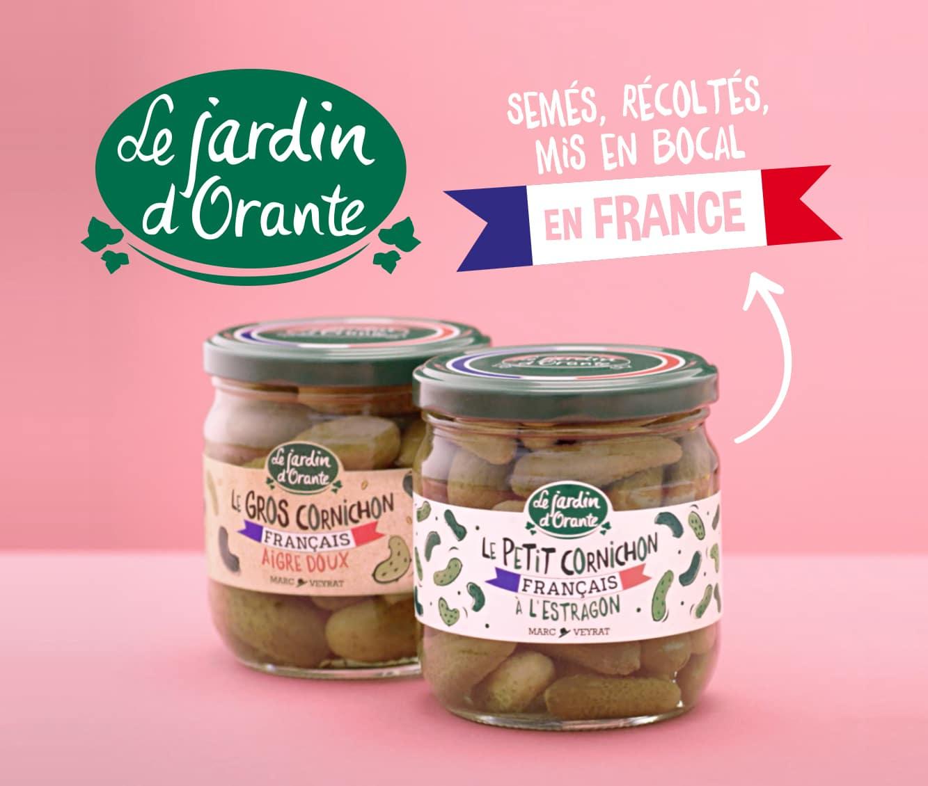 Des cornichons très très français !